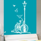 Wall Stickers: Bicycle and Lamp 4