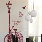 Wall Stickers: Bicycle and Lamp 7