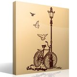 Wall Stickers: Bicycle and Lamp 8