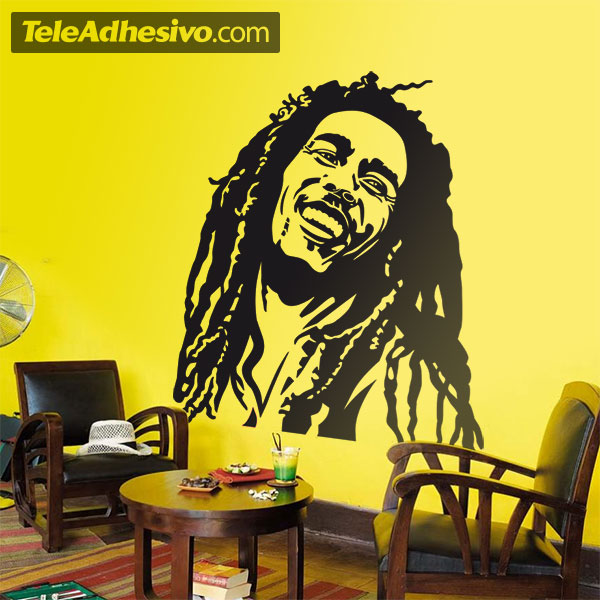 Wall Stickers: Bob Marley Part 58