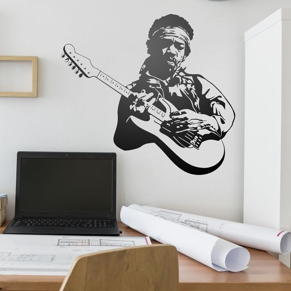 Wall Stickers: Jimi Hendrix