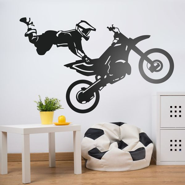 Wall Stickers: Freestyle motocross