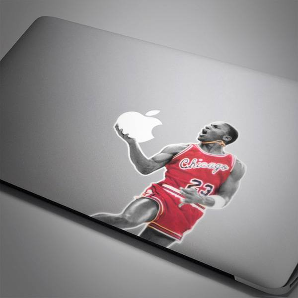 Car and Motorbike Stickers: Michael Jordan