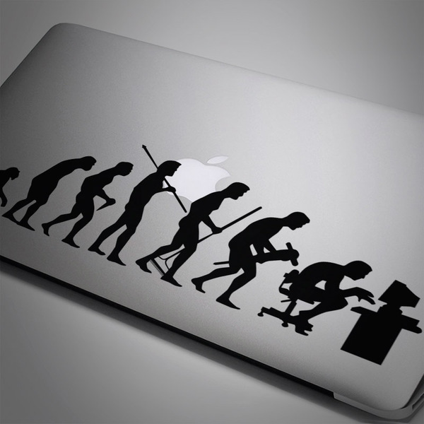 Car & Motorbike Stickers: Evolution
