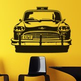 Wall Stickers: Checker Taxi 2