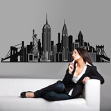 Wall Stickers: Skyline New York 2