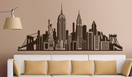 Wall Stickers: Skyline New York 3