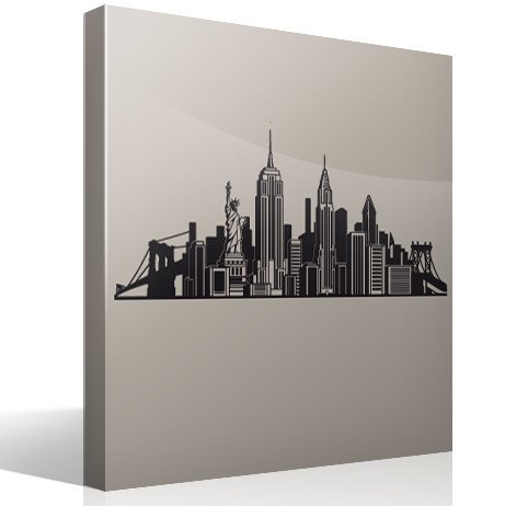 Wall Stickers: Skyline New York