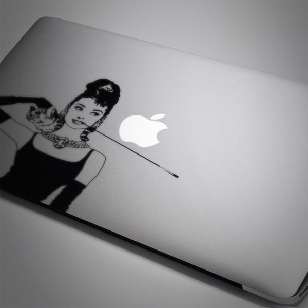 Car & Motorbike Stickers: Audrey Mac Book