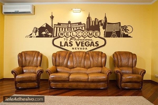 Wall Stickers: Las Vegas Skyline Part 98