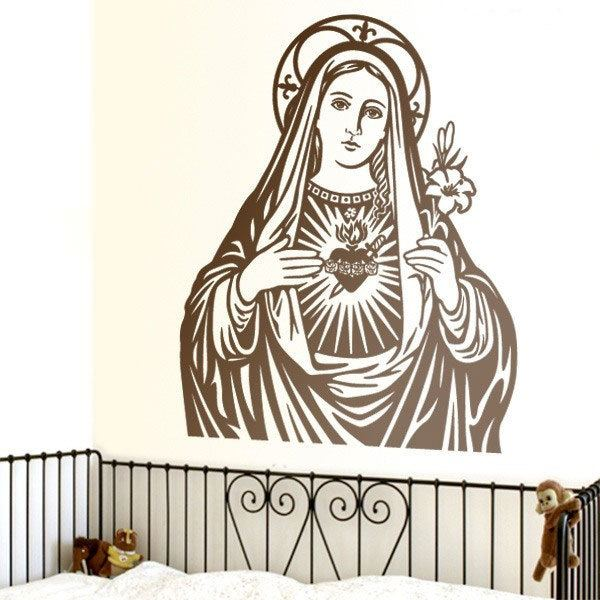 Wall Stickers: Virgin Mary