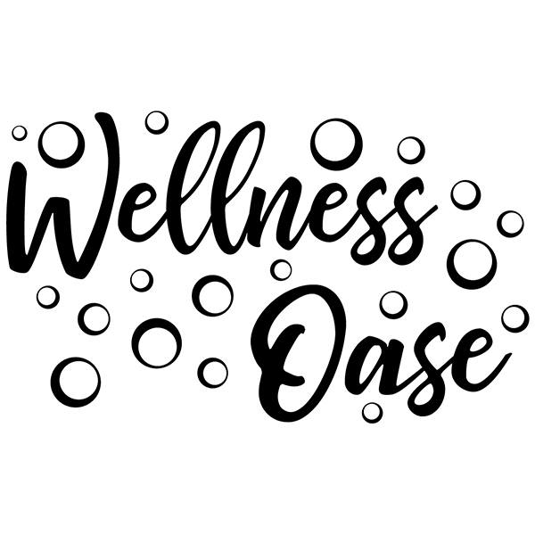 Wall Stickers: Wellness Lounge - german