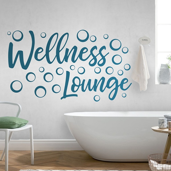 Wall Stickers: Wellness Lounge - english