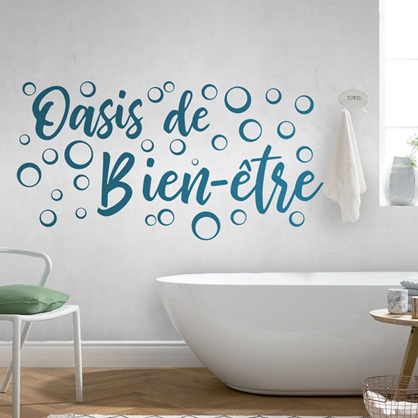 Wall Stickers: Wellness Lounge - french