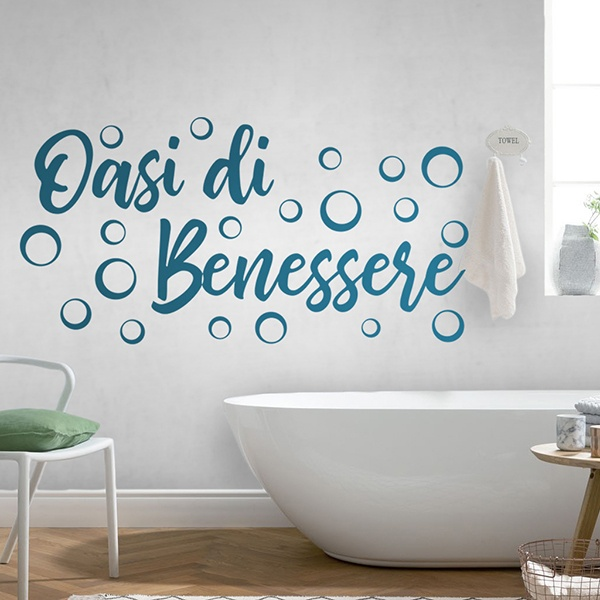 Wall Stickers: Wellness Lounge - italian