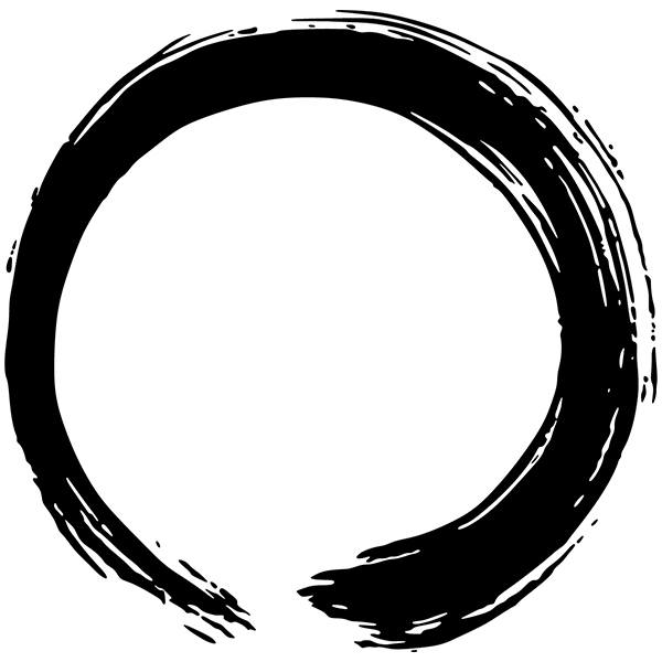 Wall Stickers: Enso - Circle