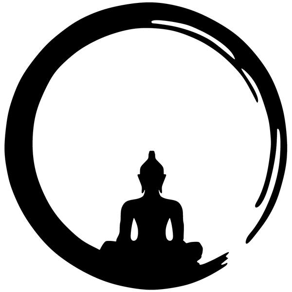 Wall Stickers: Buddha in Enso