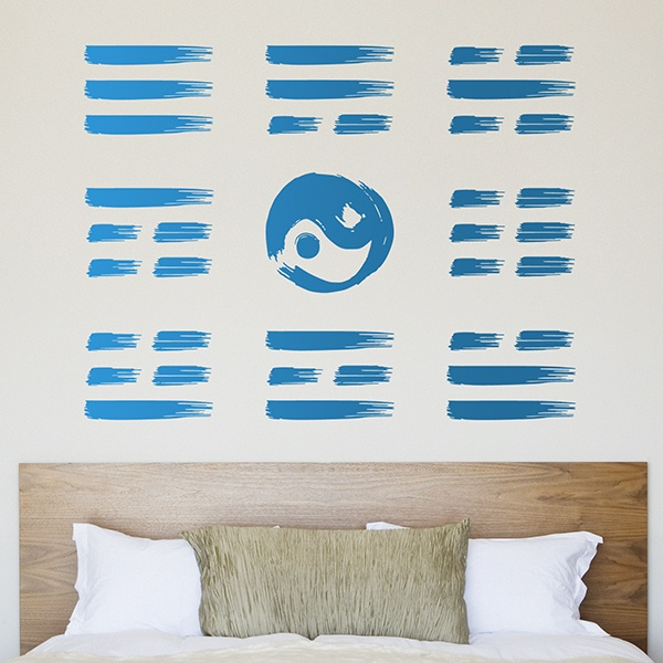 Wall Stickers: Chinese symbol Pa Kua