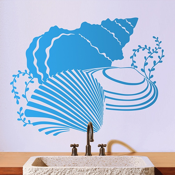 Wall Stickers: Sea shells