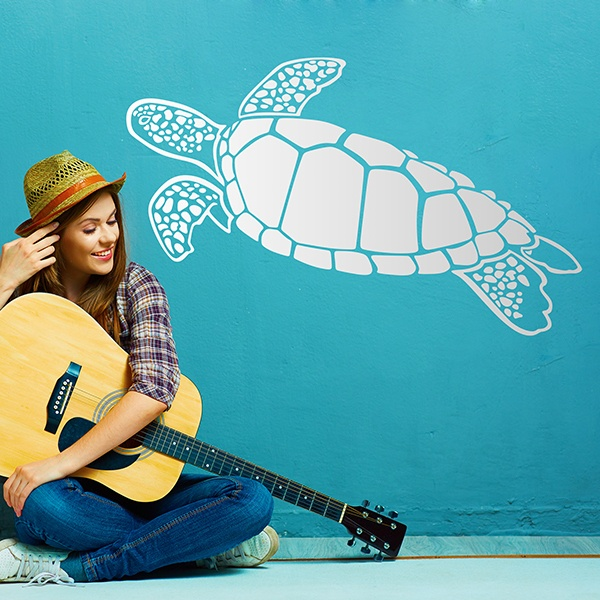 Wall Stickers: Loggerhead sea turtle