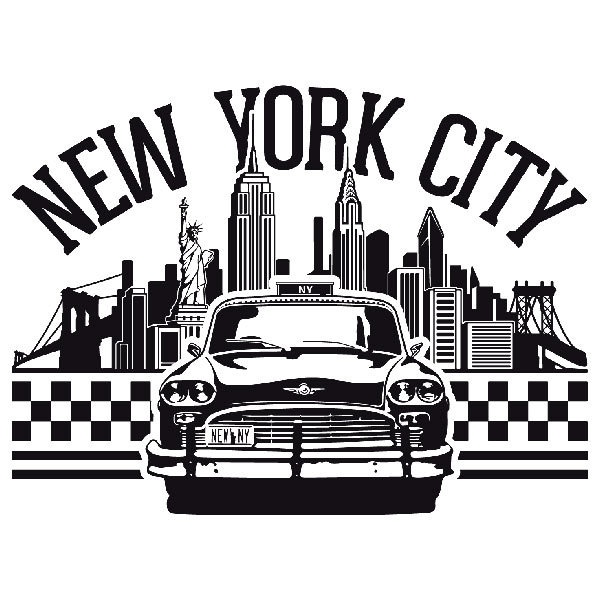 Wall Stickers: New York City icons