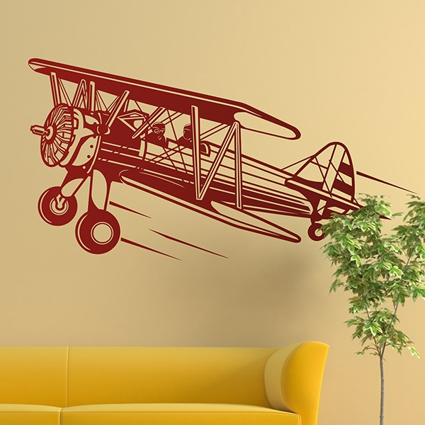Wall Stickers: Light aircraft 0