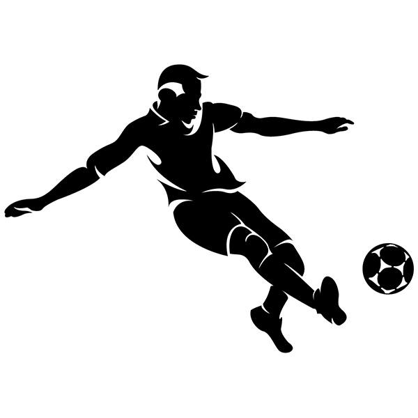 Wall Stickers: Footballer