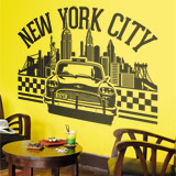 Wall Stickers: New York City icons 2