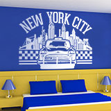 Wall Stickers: New York City icons 3