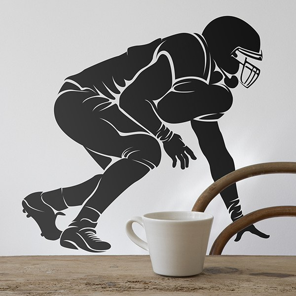 Wall Stickers: Defense American football