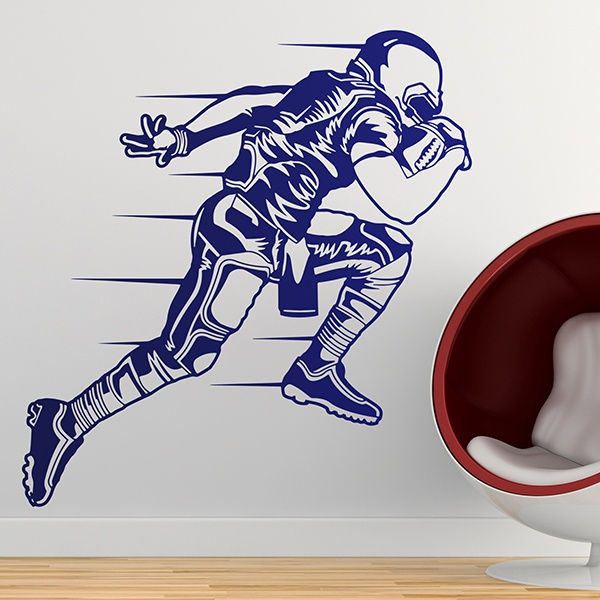 Wall Stickers: Sprint American football