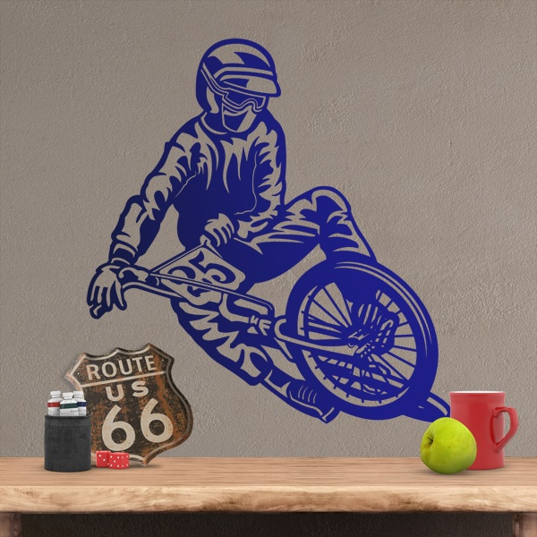 Wall Stickers: BMX Pirouette