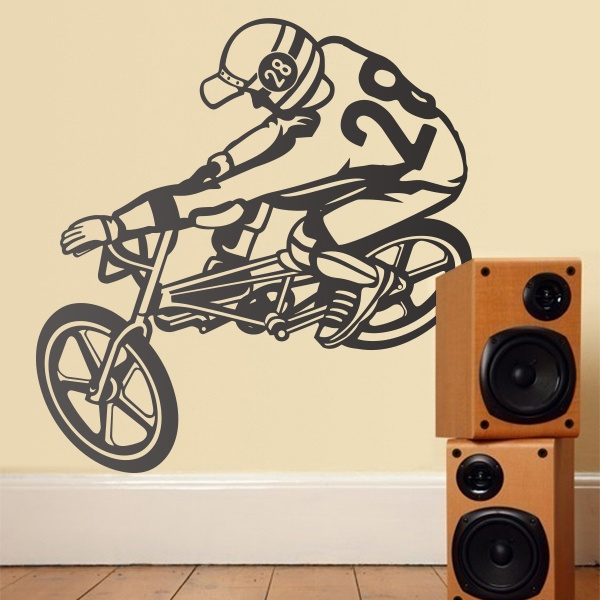 Wall Stickers: Bmx Freestyle 0