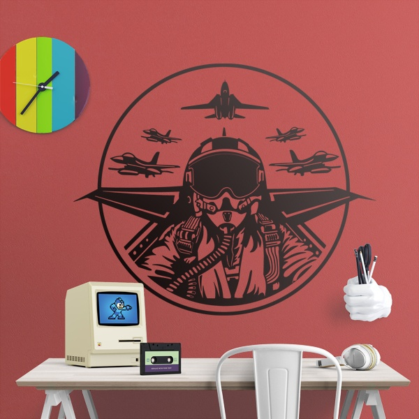 Wall Stickers: Top Gun