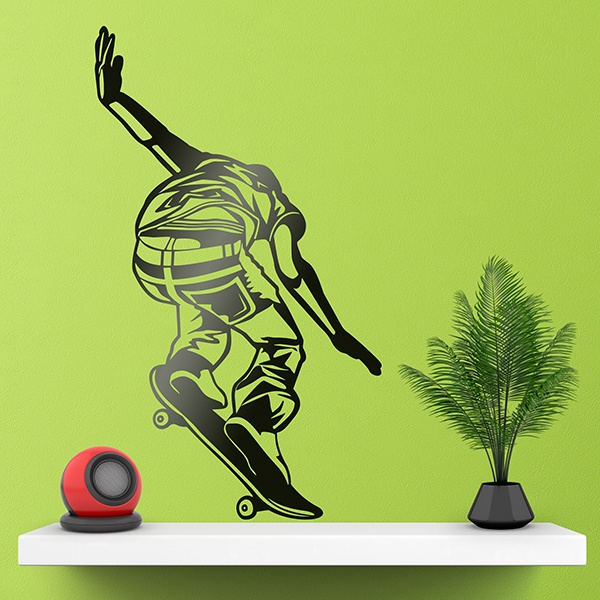 Wall Stickers: Skater falling