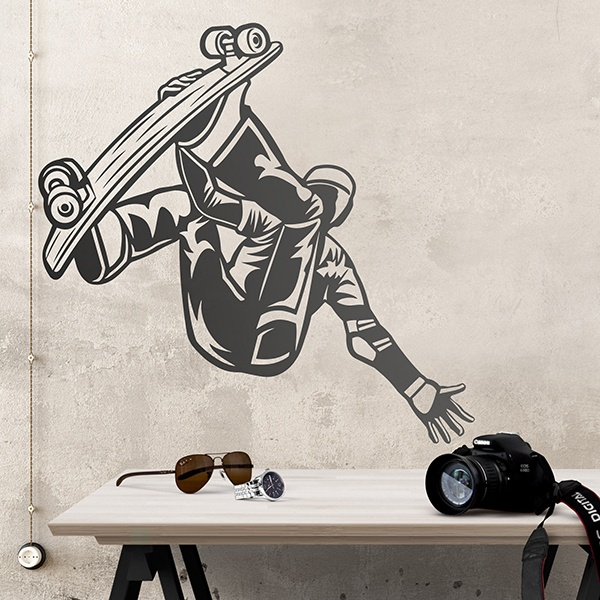 Wall Stickers: Skater freestyle