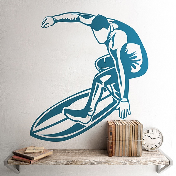 Wall Stickers: Surfer
