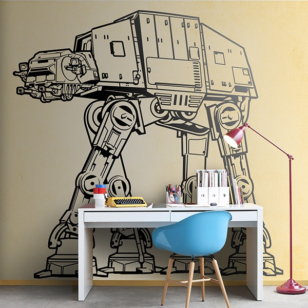 Wall Stickers: AT-AT