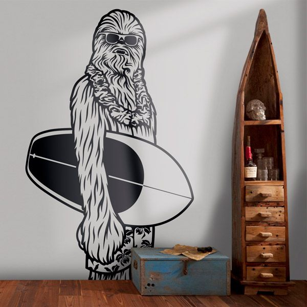 Wall Stickers: Chewbacca California