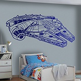 Wall Stickers: Millennium Falcon 2