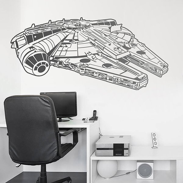 Wall Stickers: Millennium Falcon
