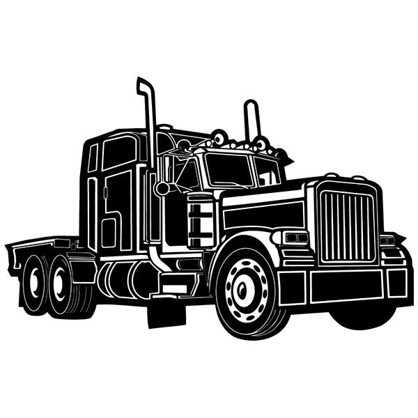 Wall Stickers: Kenworth truck