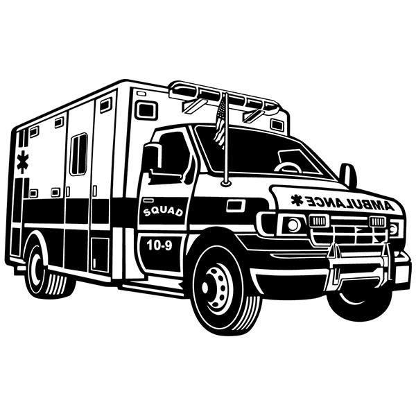 Wall Stickers: Ambulance