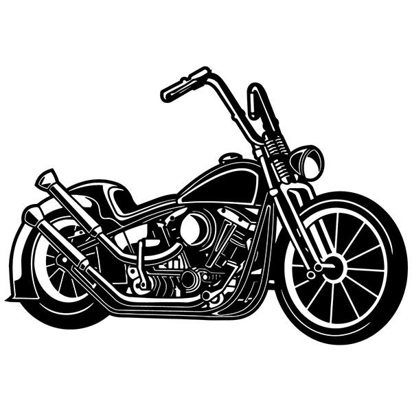 Wall Stickers: Harley Davidson vintage