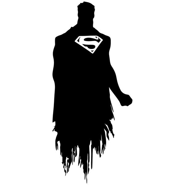 Wall Stickers: Superman silhouette