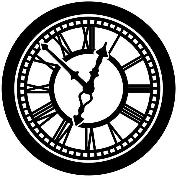 Wall Stickers: Clock