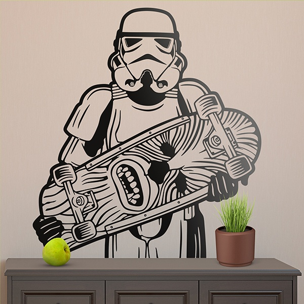 Wall Stickers: Soldier Imperial Skate 0