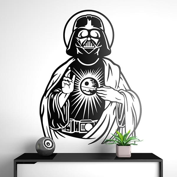 Wall Stickers: Darth Vader Sacred Heart