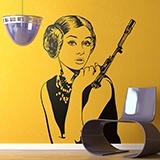 Wall Stickers: Audrey Leia 2