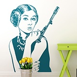 Wall Stickers: Audrey Leia 3